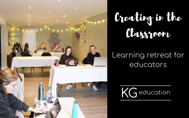 Creating in the Classroom Blog Post